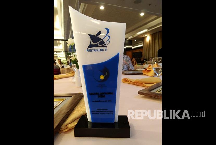 Penghargaan Kemenristek Dikti untuk Baznas