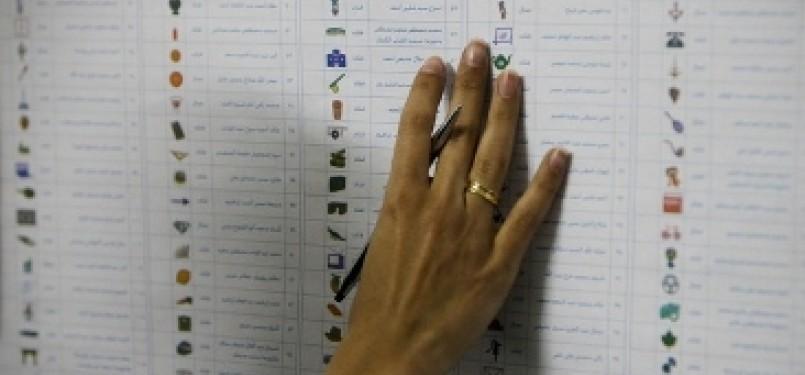 Penghitungan suara pemilu Mesir