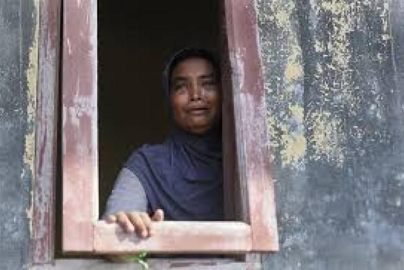 Pengungsi etnis Rohingya.
