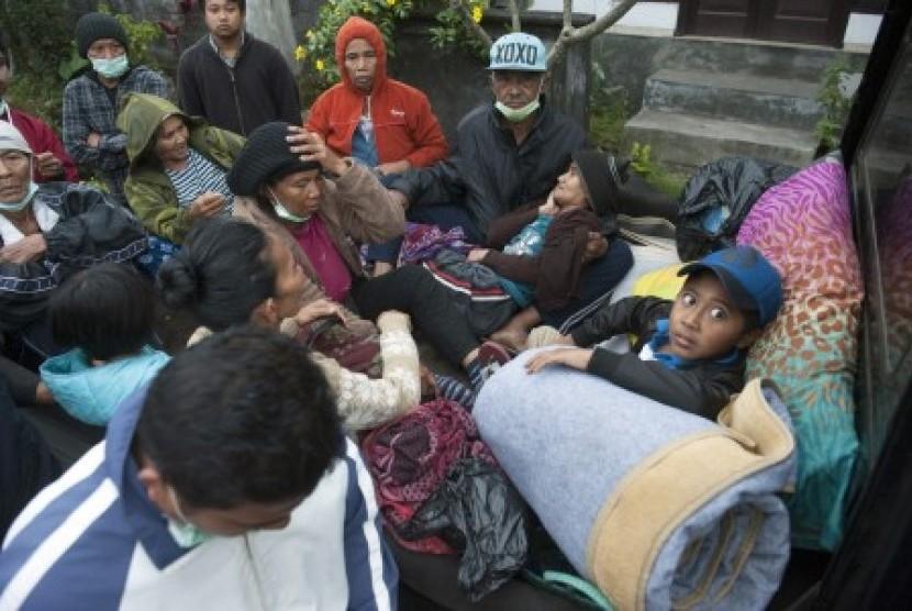 Antisipasi Erupsi Gunung Agung, Baznas Siaga Bantu Pengungsi