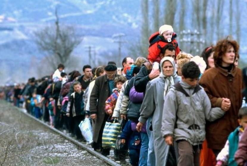 Pengungsi (ilustrasi)