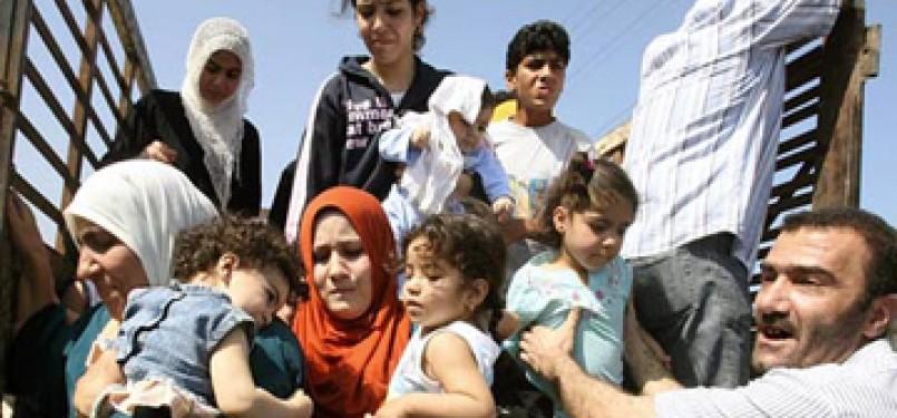 Pengungsi Palestina/ilustrasi
