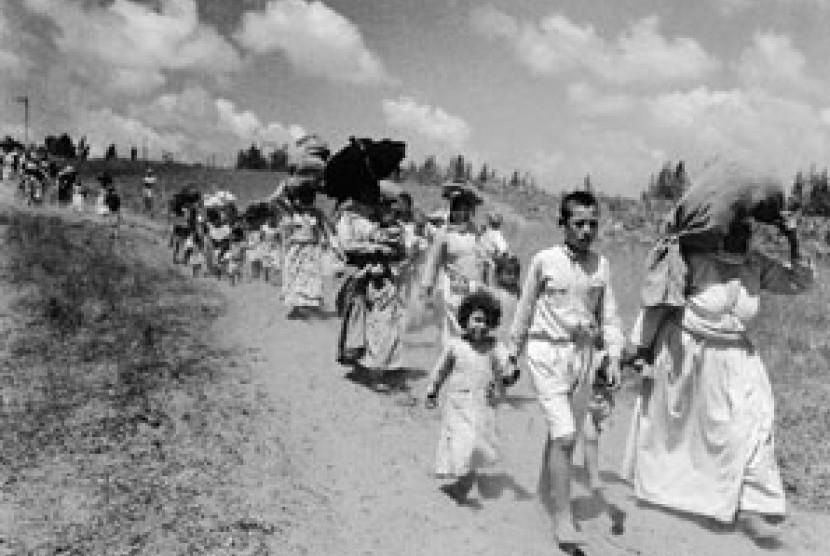 Pengungsi Palestina menyusul Perang Arab-Israel 1948