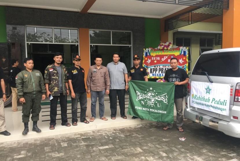 Pengurus DPC Rabithah Pekalongan bersama PCNU Pekalongan