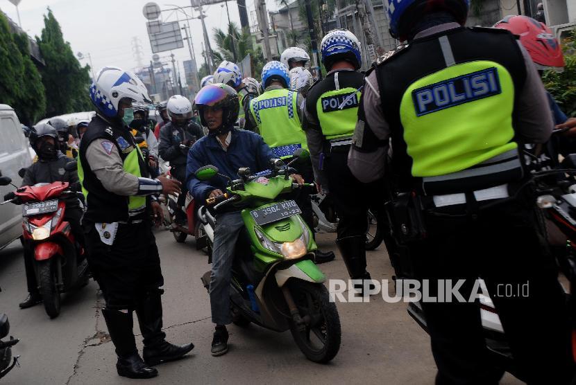 Operasi Zebra, Polres Metro Tangerang Sita 206 Kendaraan