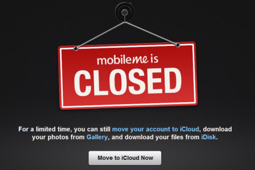Penutupan MobileMe