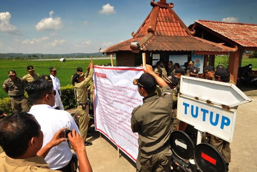Penutupan objek wisata Kampoeng Rawa.