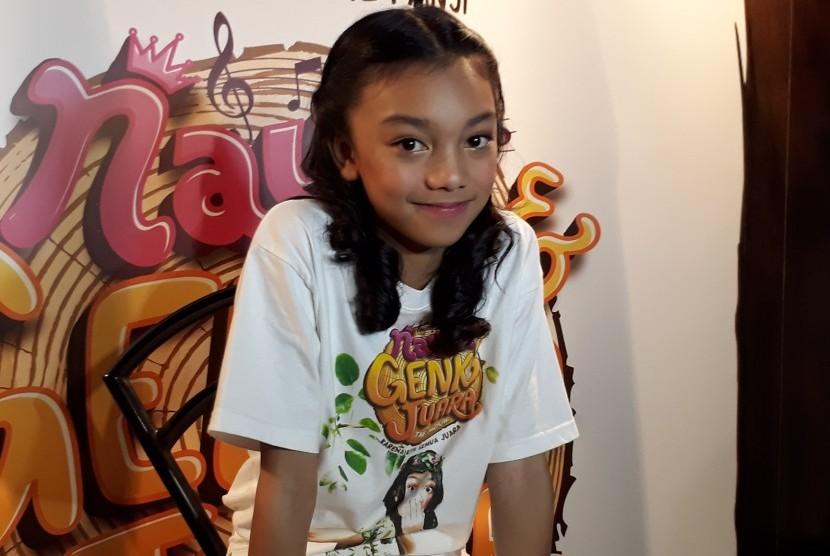 Penyanyi cilik Adyla Rafa Naura Ayu.
