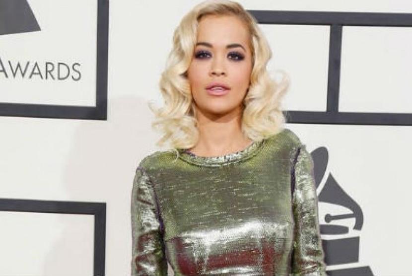 Penyanyi Rita Ora.