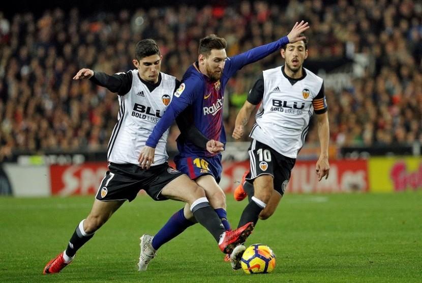 Gara-Gara Gol Messi Dianulir, La Liga Didesak Gunakan VAR