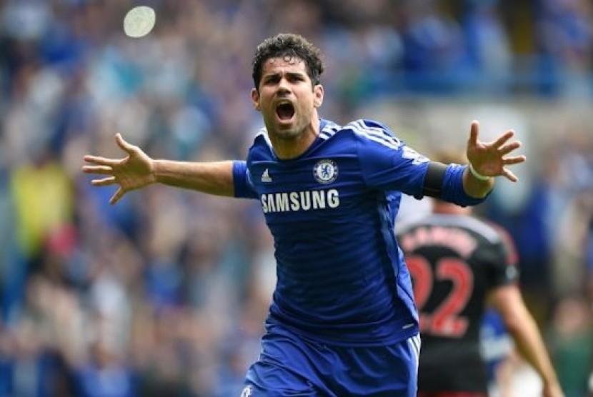 Penyerang Diego Costa.