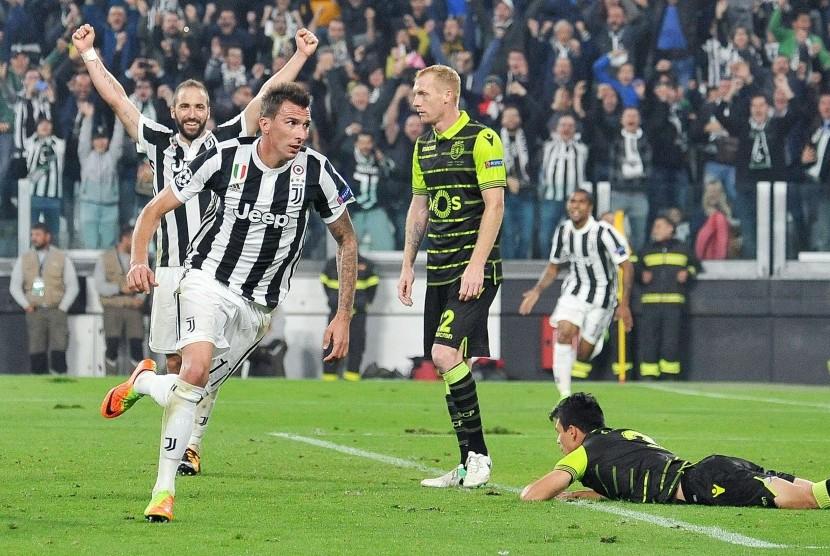 Juventus Menang Tipis 2-1 Atas Sporting CP