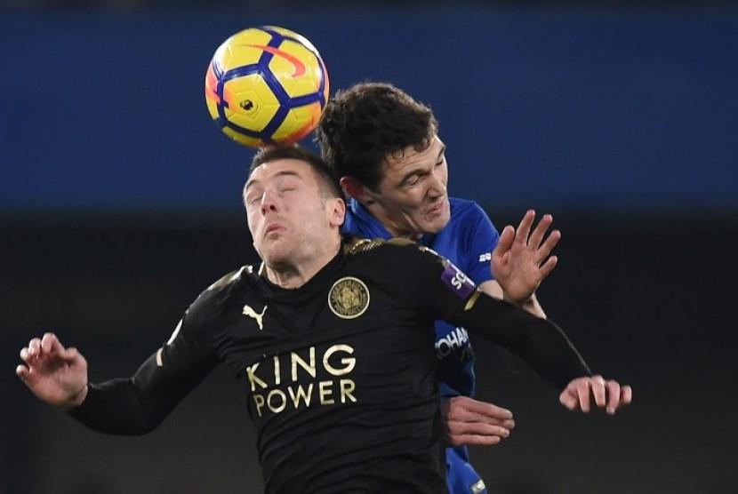 Chelsea Ditahan Imbang 10 Pemain Leicester