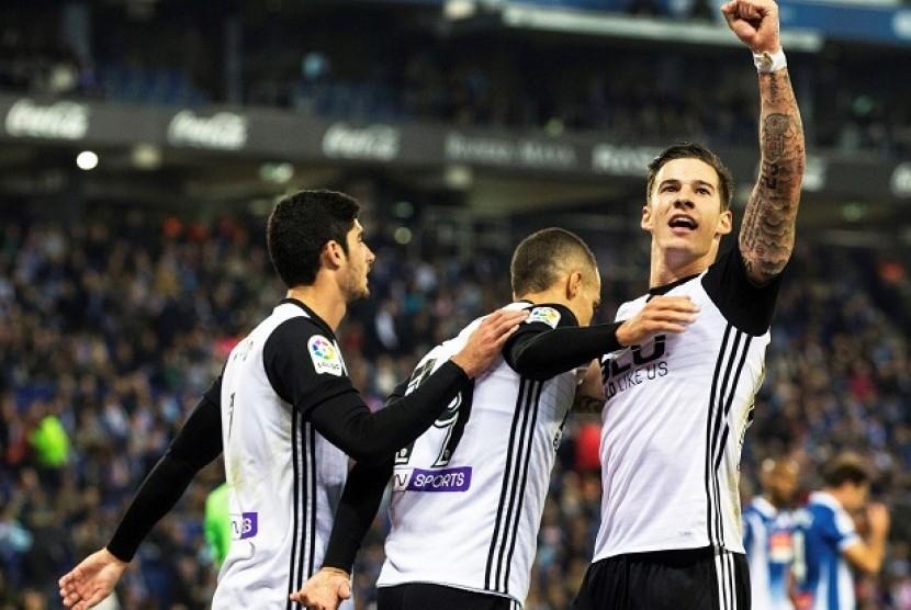 Kemenangan Valencia Atas Espanyol Jadi Bekal Lawan Barcelona