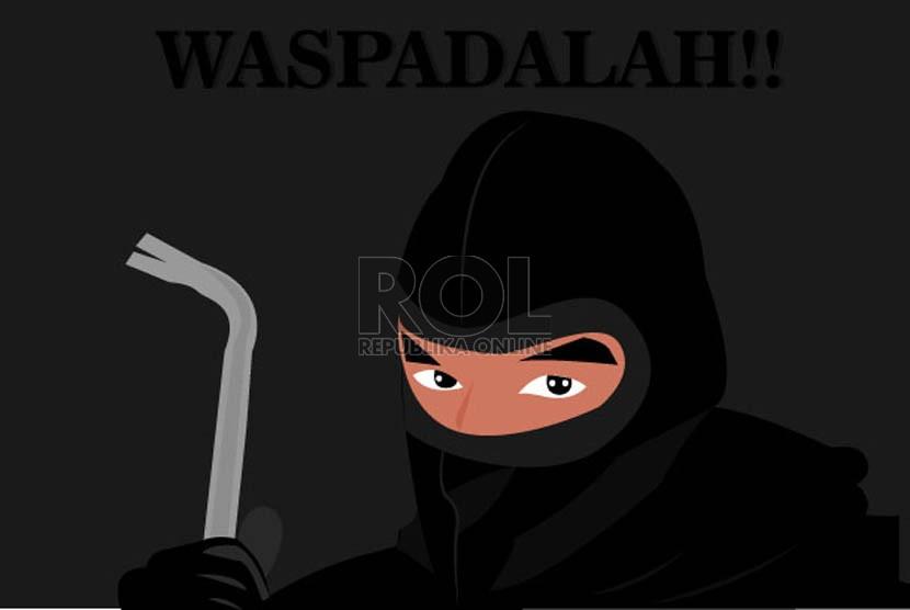 Polisi Tembak Perampas Ponsel Mahasiswi di Tangerang