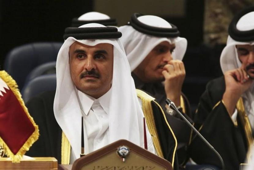 Perang di Suriah akan menjadi pembahasan saat Emir Qatar Sheikh Tamim bin Hamad Al Thani bertemu Presiden Rusia Vladimir Putin.