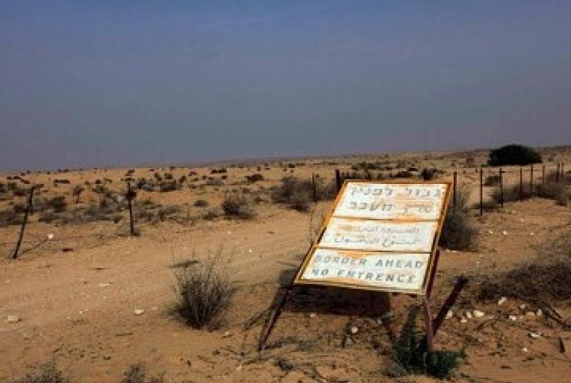 Perbatasan Mesir-Israel.
