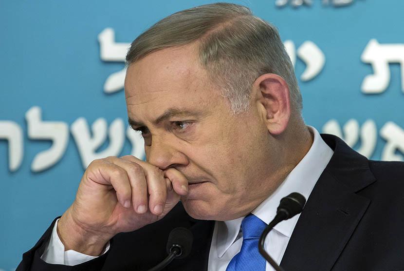 Perdana Menteri Israel, Benyamin Netanyahu.