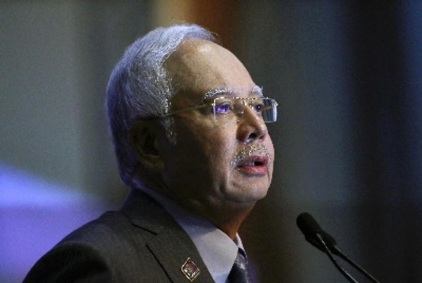 Najib Razak.