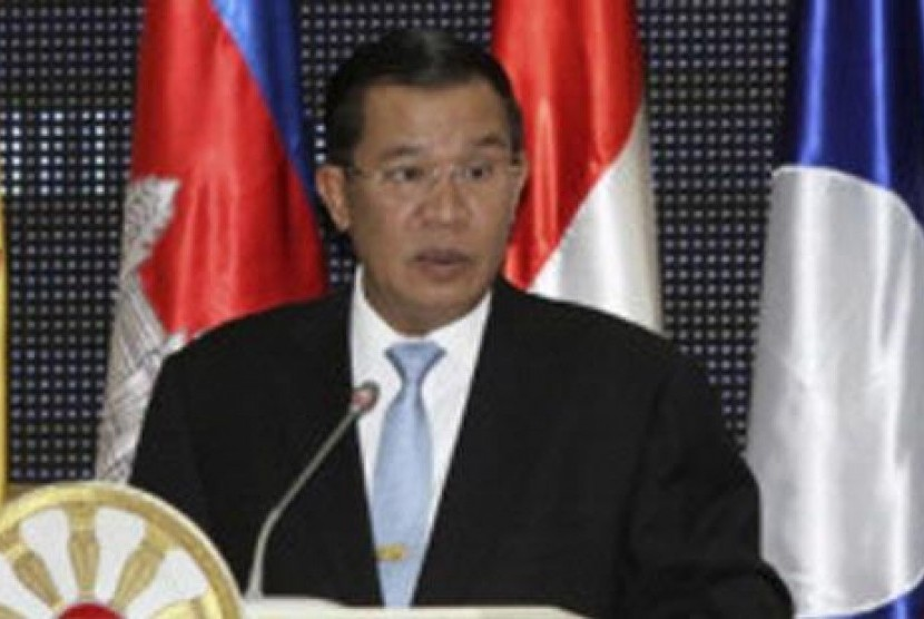Perdana Menteri (PM) Kamboja Hun Sen