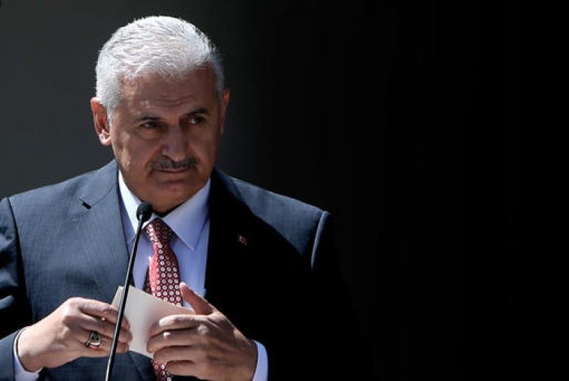 Perdana Menteri Turki Binali Yildirim, Rabu, 1 Juni 2016.