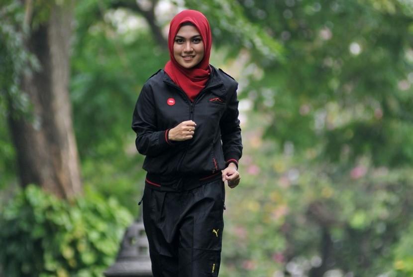 [Ilustrasi] Perempuan berolahraga. Saat ini, kepedulian perempuan Indonesia terhadap kesehatan masih kurang.