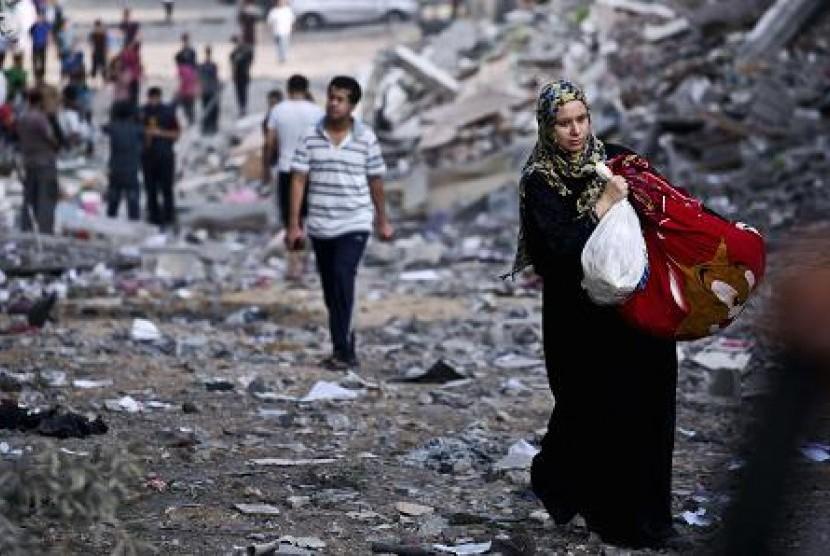 Israel Tangkap 215 Perempuan Palestina Sejak Oktober
