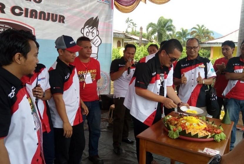 Peresmian TACI Chapter Cianjur