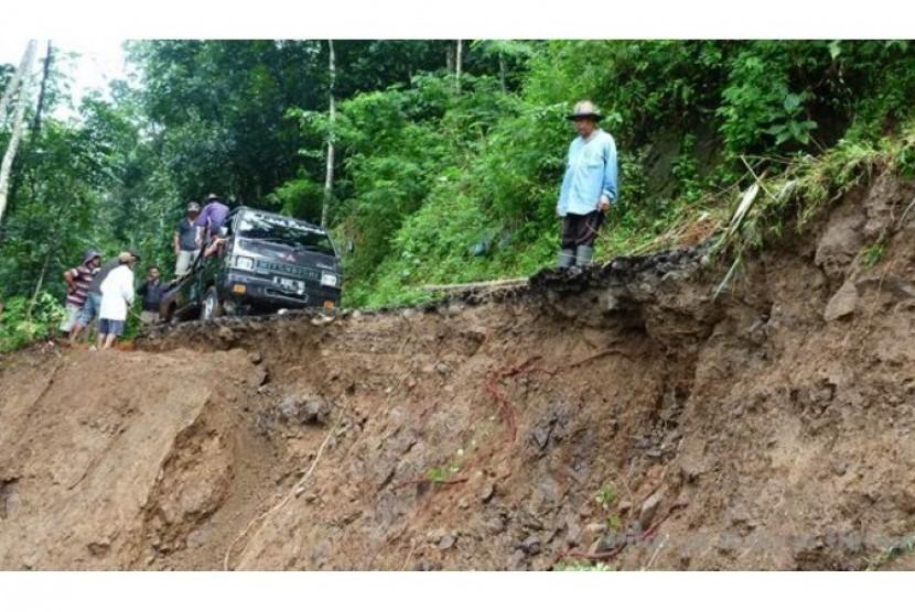 Bencana alam (ilustrasi)