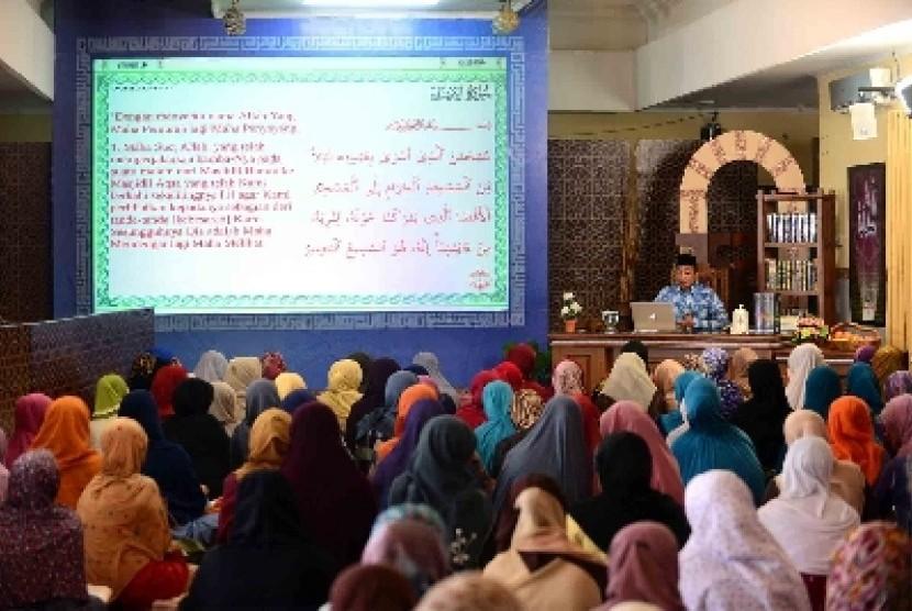 Darul Quran Indonesia di  Jalur Gaza Adakan Peringatan Isra Miraj