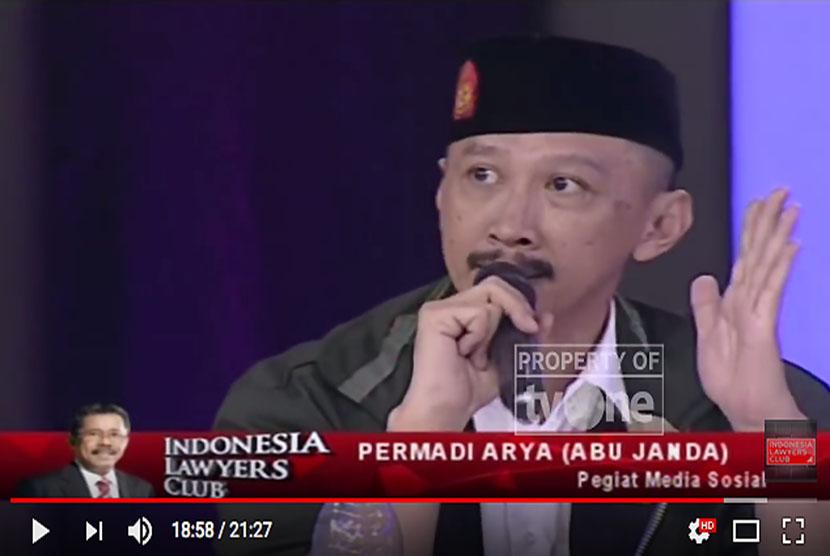 Permadi Arya alias Abu Janda