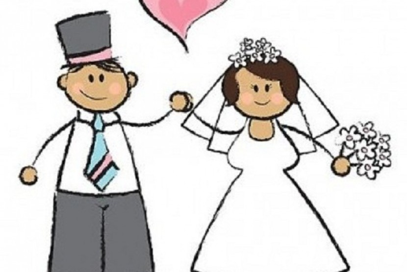 Pernikahan dini (Ilustrasi).