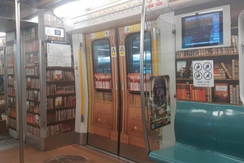 Permalink to Cina Ubah Kereta Bawah Tanah Menjadi Perpustakaan Berjalan
