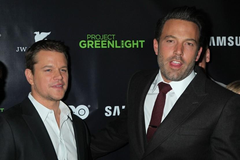 Permalink to Ben Affleck dan Matt Damon akan Produksi Film Detektif