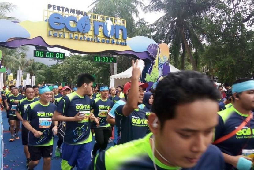 Pertamina Eco Run 2017 Berlangsung Meriah