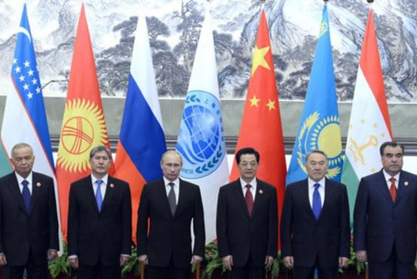 Pertemuan SCO di Cina untuk membahas soal Timur Tengah
