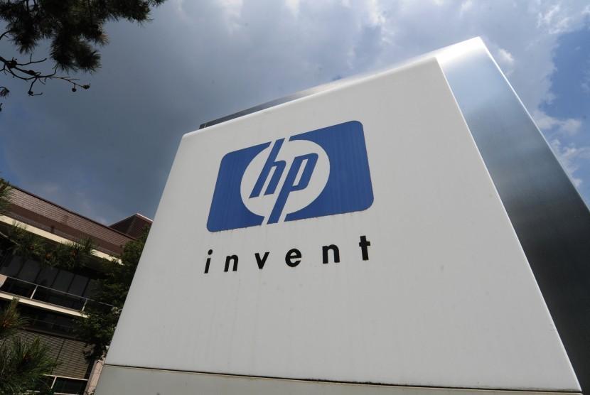 Perusahaa Hewlett-Packard HP (ilustrasi)