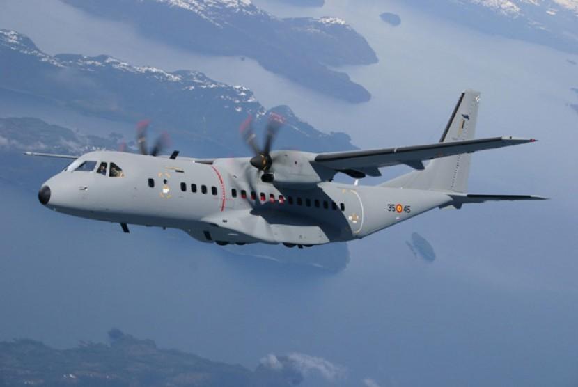 Pesawat CN-295 (ilustrasi)