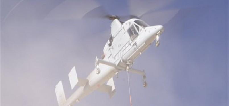 Pesawat helikopter pengangkut kargo di Kamp Dwyer, Provinsi Helmand, Afghanistan.(ilustrasi).
