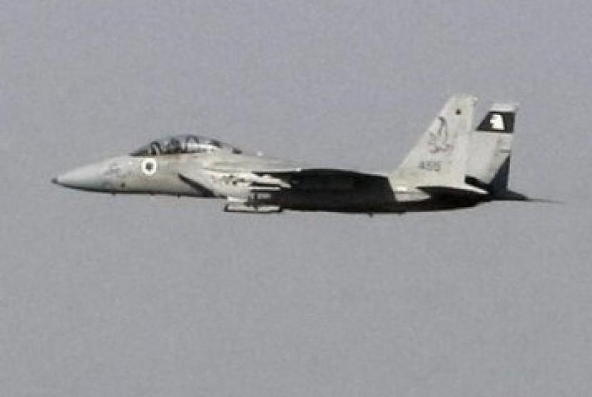 Pesawat Jet tempur F-15 milik Israel