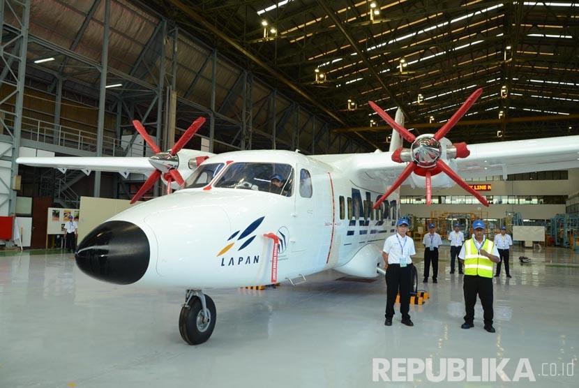 Pesawat N219 di PTDI, Kota Bandung