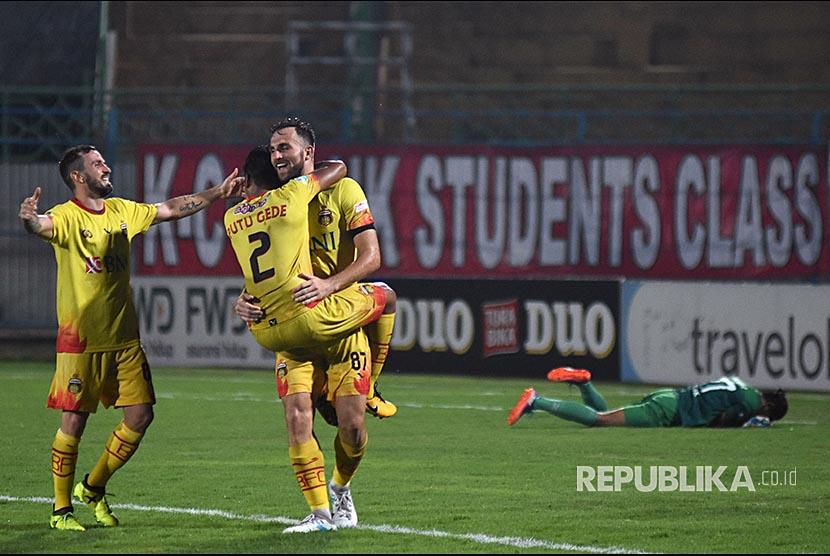 "Bali United ""Juara"" Liga 1, Bhayangkara Memang Solid"