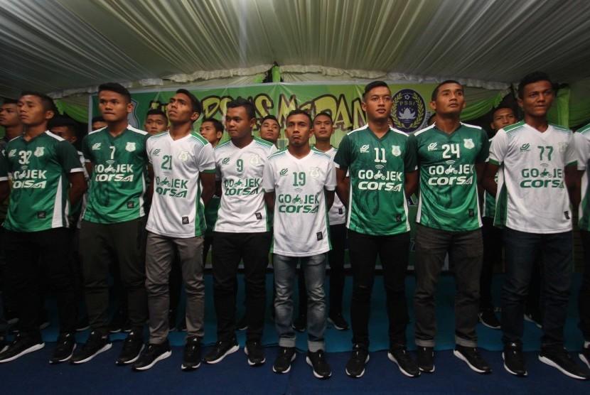 Skuat PSMS Medan yang berkompetisi di Liga 2 Indonesia.