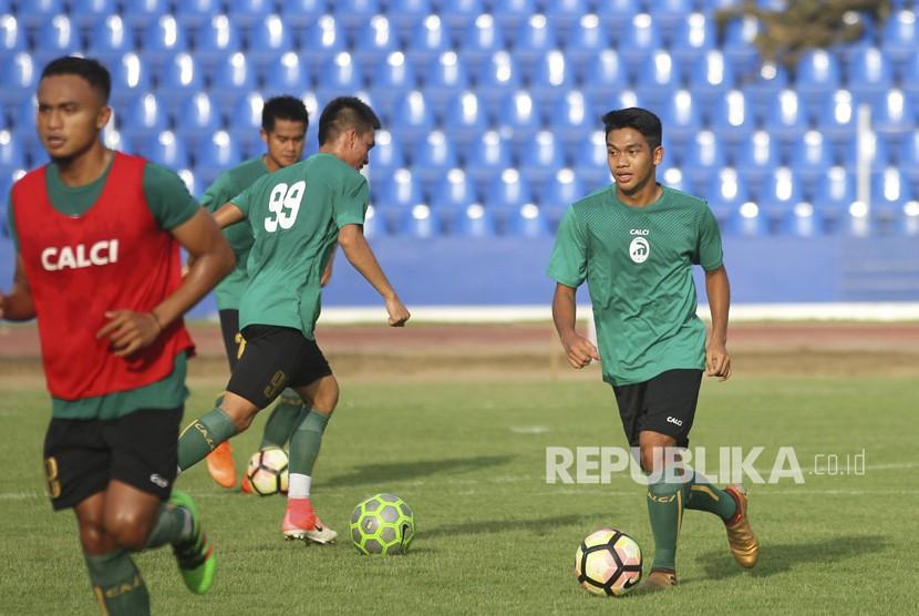 20 Pemain Sriwijaya FC Jalani Latihan Perdana