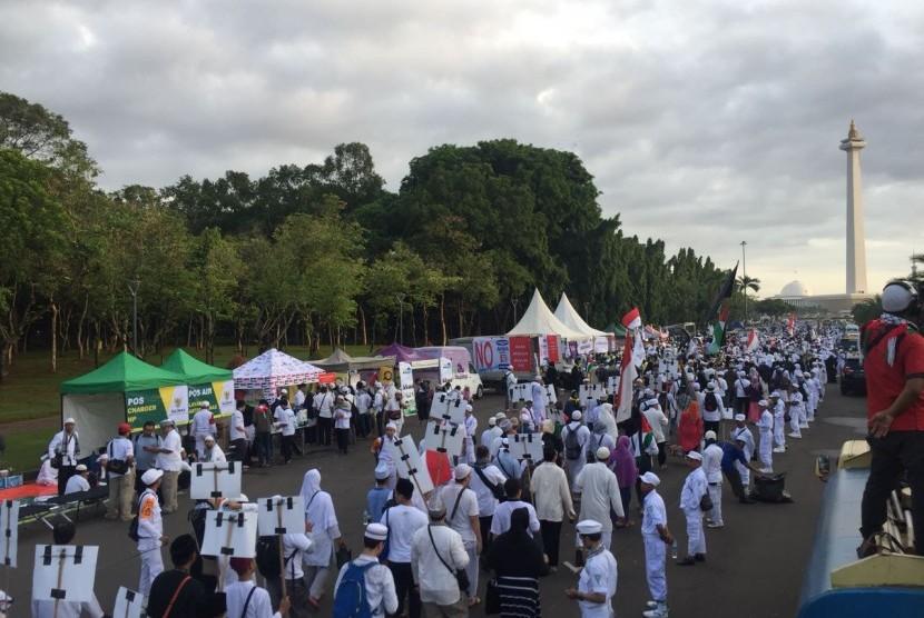 Media Inggris Ikut Beritakan Aksi Bela Palestina di Jakarta