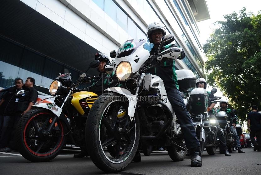 [ilustrasi] Peserta bermotor dari Radio Antar Penduduk Indonesia.