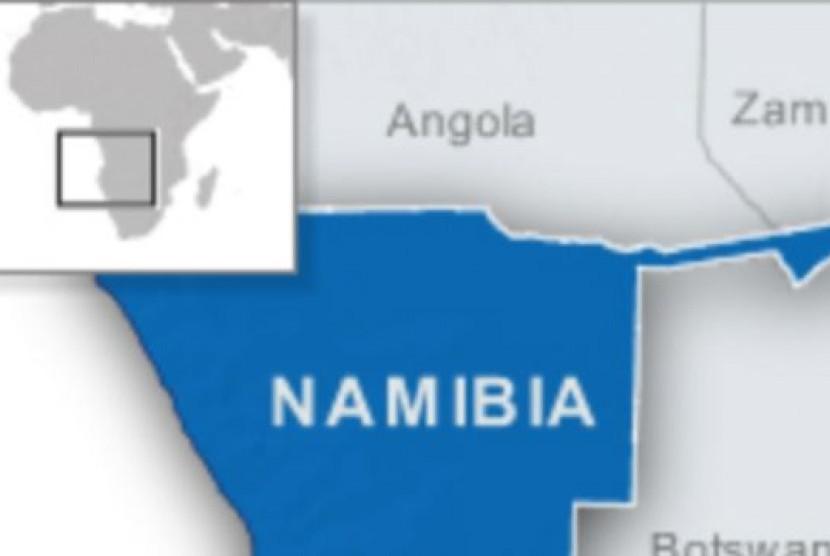 Peta Namibia