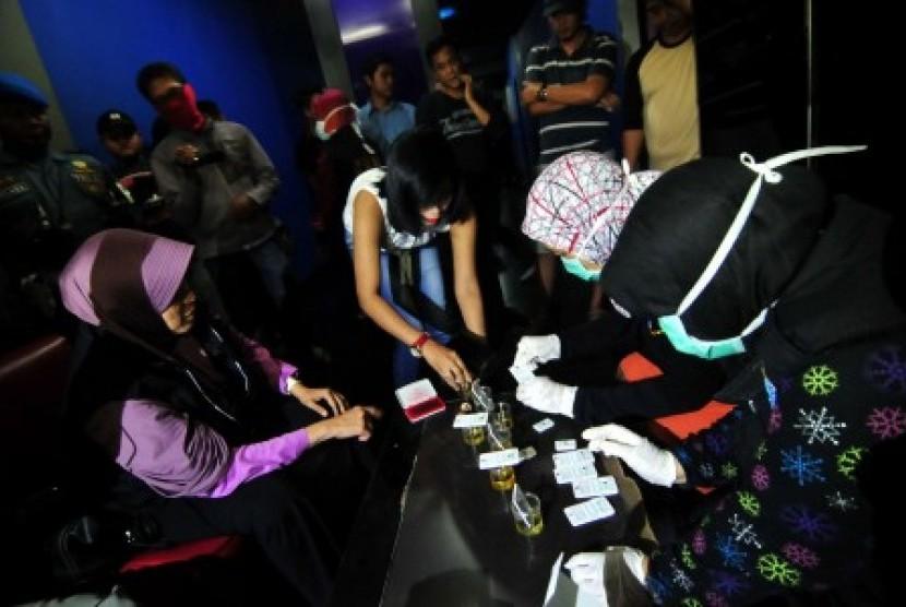 Pimpinan DPRD Padang Lawas Terjaring Razia Narkoba