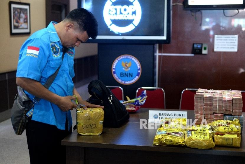 BNN-Bea Cukai Gagalkan Penyelundupan 133 Kg Sabu