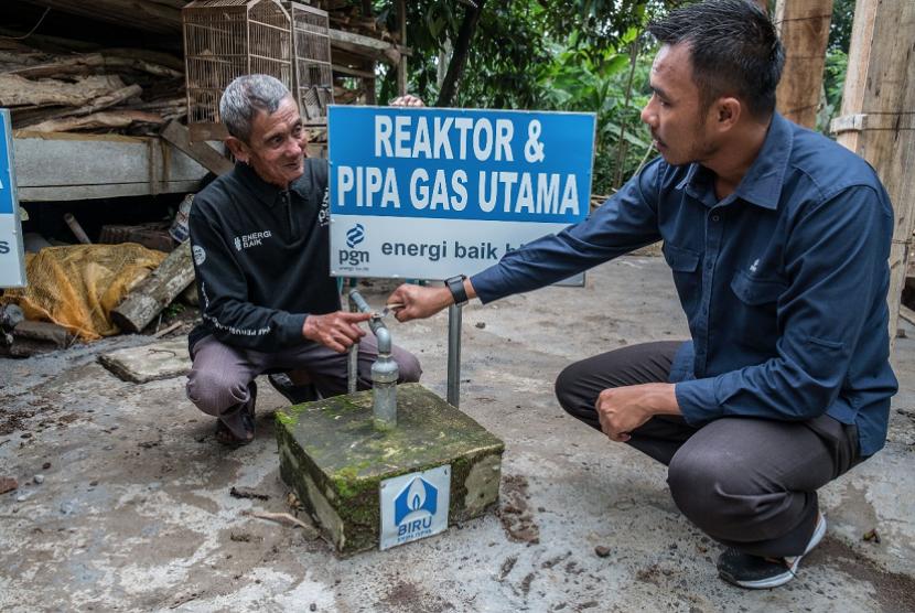 Wujudkan Desa Mandiri Energi, PGN Bangun 10 Reaktor Biogas